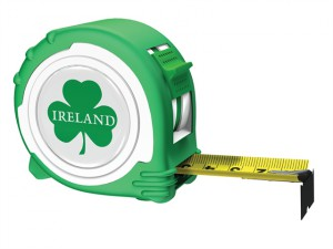 Irish Rugby Tape Green / Yellow 5m/16ft (Width 25mm)