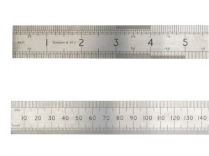 ASR 150 Precision Steel Rule 150mm (6in)