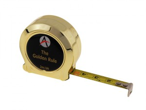 Golden Rule Tape 2m / 6ft (Width 10mm)