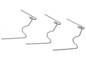 GH001 W Glazing Clips Pack of 50
