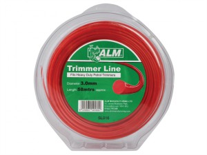 SL016 Heavy-Duty Trimmer Line 3mm x 58m