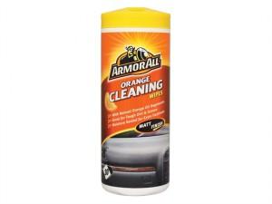 Orange Cleaning Wipes Tub of 30