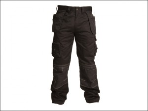 Black Holster Trousers Waist 38in Leg 29in