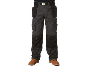 Black & Grey Holster Trousers Waist 32in Leg 31in