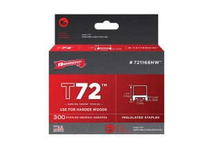 T72 Insulated Staples 5mm x 12mm Box 300