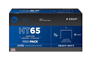 HT65S Staples 19mm (3/4in) Pack 600