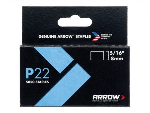 P22 Staples 8mm ( 5/16in) Box 5050