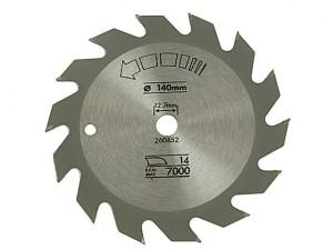 Circular Saw Blade 140 x 12.7mm x 14T Fast Rip