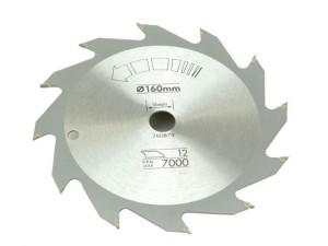 Circular Saw Blade 160 x 16mm x 12T Fast Rip
