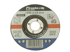 X32025 Proline Metal Cut Off Disc 115mm