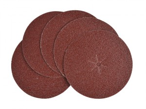 Sanding Discs 125mm 40g (Pack of 5)