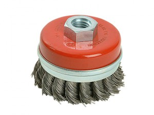 Twist Knot Wire Cup Brush 65mm M14