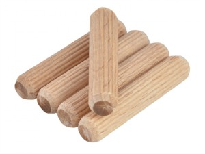 X66432 Fluted Dowels (40) 8mm x 40mm