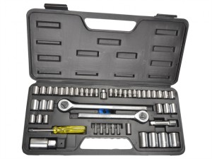 Socket Set of 52 Metric & AF 1/4 3/8 & 1/2in Drive