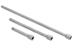 1/4in Square Drive CV Extension Bar Set 3 Piece