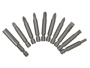 Power Bit Set Assorted 10 Piece