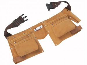 Double Leather Tool Pouch - Regular