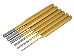 Gold Pin Punch Set of 6