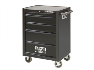 1470K5 Tool Trolley 5 Drawer Black