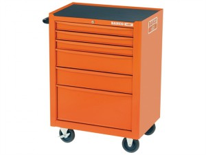 1470K6 Tool Trolley 6 Drawer Orange