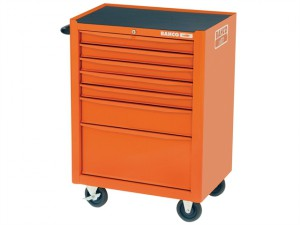 1470K7 Tool Trolley 7 Drawer Orange