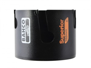 Superior™ Multi Construction Holesaw Carded 102mm