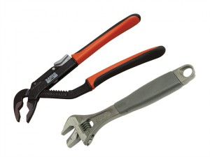 9873 Adjustable & Slip Joint Pliers Set 2 Piece