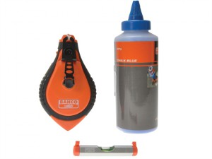 Blue Chalk, Chalk Line, Line Level Set