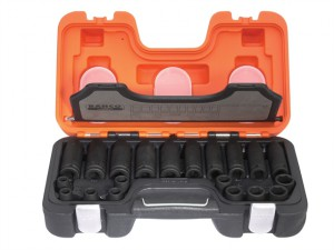 D-DD/S20 Mixed Impact Socket Set of 20 Metric 1/2in