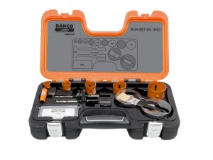 Professional Holesaw Set 3834 16/51 Sizes: 16-51mm