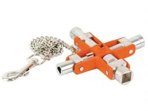 Switch Cabinet Multi-Fitting 9-Way Master Key