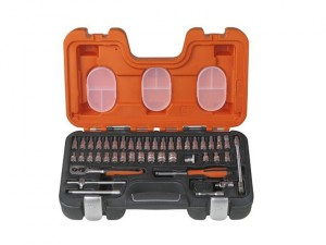 S460 Socket Set of 46 Metric 1/4in Drive