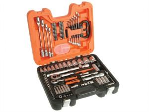 S910 Socket & Spanner Set of 92 Metric & AF 1/4 & 1/2in Drive