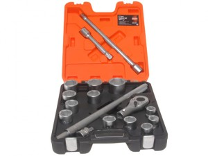 SLX17 Socket Set of 17 Metric 3/4in Drive