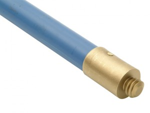 1623 Universal Blue Polypropylene Rod 1in x 6ft