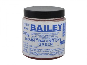 3589 Drain Tracing Dye - Green