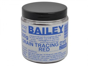 3590 Drain Tracing Dye - Red