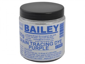 3592 Drain Tracing Dye - Purple