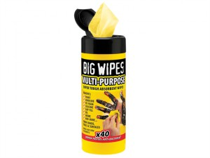 Black Top Multi-Purpose Wipes Tub of 40