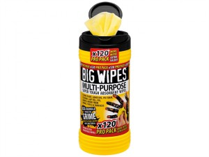4x4 Multi-Purpose Cleaning Wipes Tub of 120