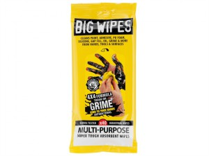 4x4 Multi-Purpose Cleaning Wipes Sachet of 40