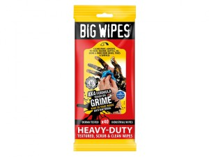 4x4 Heavy-Duty Cleaning Wipes Sachet of 40