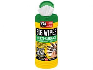 4x4 Multi-Surface Cleaning Wipes Tub of 80