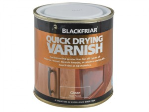 Quick Drying Duratough Interior Varnish Clear Matt 250ml