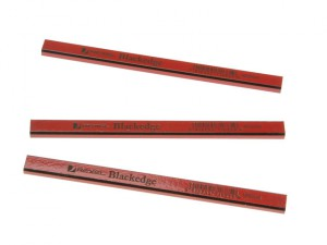 Carpenter's Pencils - Red / Medium Card of 12