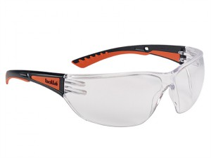 Slam+ Safety Spectacles Platinum - Clear