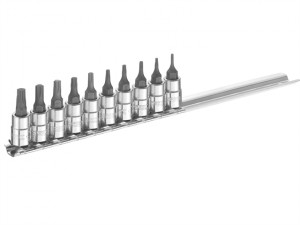 Socket Set of 10 TORX 1/4in Drive