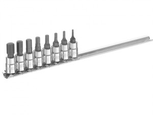 Socket Set of 8 Hex Bit 1/4in Drive