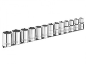 Socket Set of 13 A/F 3/8in Drive