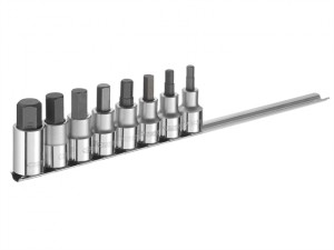 Hex Bit Socket Set of 8 1/2in Drive